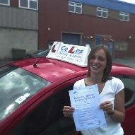 Learner with pass certificate